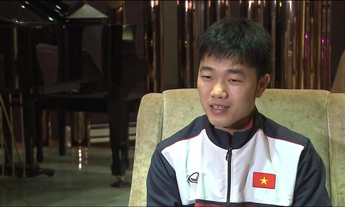 Xuân Trường trả lời tiếng Anh về tinh thần U23 Việt Nam trước bán kết