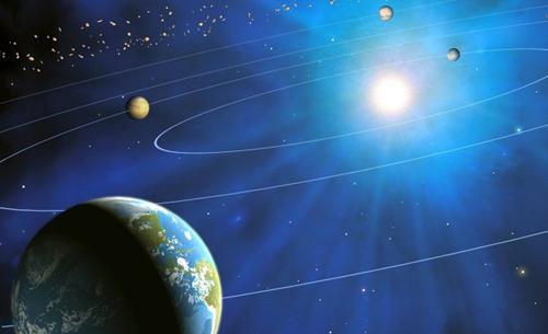Trái Đất đang ngày càng cách xa Mặt Trời. Ảnh: Metro.