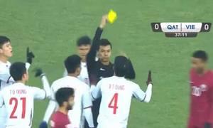 Thổi penalty, trọng tài Singapore có thiên vị U23 Qatar?