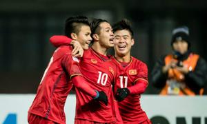 Hàng nghìn người tập trung cổ vũ cho U23 Việt Nam