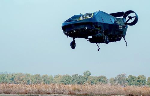 Máy bayCormorant có thiết kế độc đáo. Ảnh: Sputnik News.