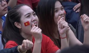 Thăng trầm cảm xúc trong trận bán kết của U23 Việt Nam