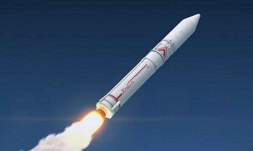 Mỗi quả Epsilon có sức tải 1.200 kg. Ảnh: JXAA.
