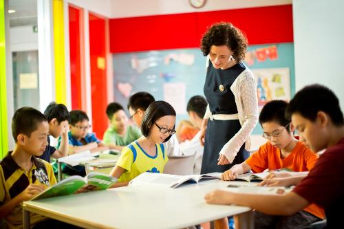 Hội đồng Anh chú trọng đến sự phát triển của từng cá nhân trong lớp.