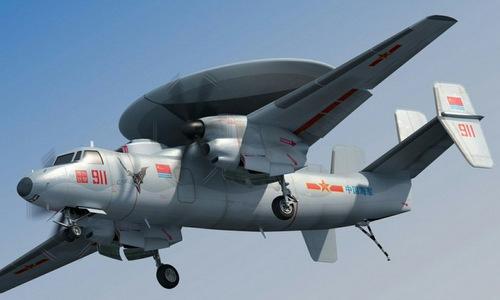 KJ-600 có vẻ ngoài giống mẫu E-2 Hawkeye của Mỹ. Ảnh: SCMP.