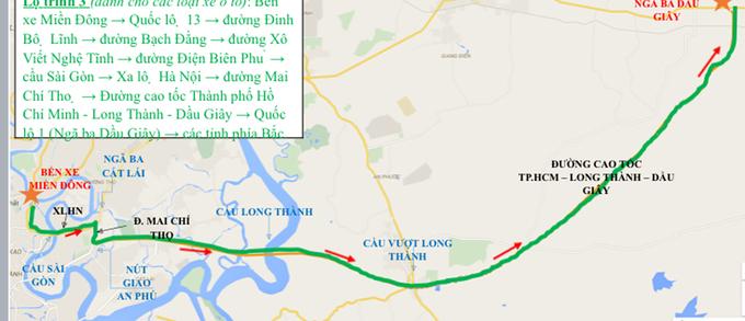 Từ TP HCM về các tỉnh nghỉ Tết đi đường nào để tránh kẹt xe