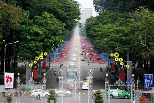 Đại lộ Lê Duẩn đoạn từ Pasteur tới Nam Kỳ Khởi Nghĩa sẽ cấm xe lưu thông từ sáng đến trưa 26/1. Ảnh: Hữu Nguyên