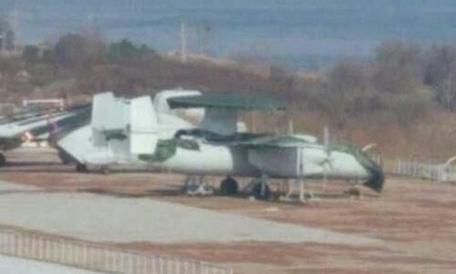 Nguyên mẫu KJ-600 lộ diện hồi năm 2017. Ảnh: Sina.