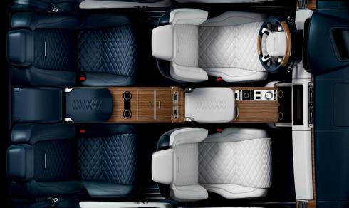 Khoang nội thất rộng rãi trên chiếc Coupe mới.