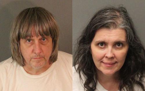 David Allen Turpin và vợ Louise Anna Turpin. Ảnh: AP.
