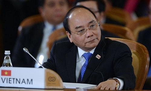Thủ tướng Nguyễn Xuân Phúc. Ảnh: FPJ.