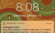 Thống đốc Hawaii đính chính báo động tên lửa chậm vì quên mật khẩu Twitter