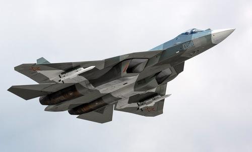 Tiêm kích tàng hình Su-57 của không quân Nga. Ảnh: Sukhoi.