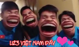 Những phút thư giãn 'khó đỡ' của các tuyển thủ U23 Việt Nam