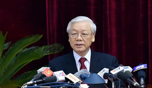 Tổng bí thư Nguyễn Phú Trọng. Ảnh: VGP