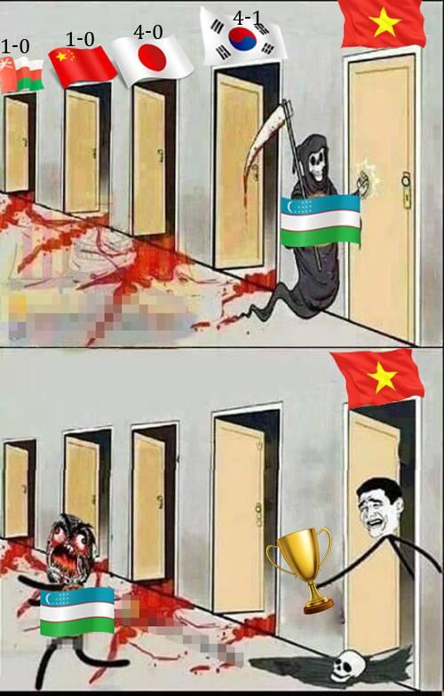 Ảnh chế hài hước trước trận U23 Việt Nam gặp U23 Uzbekistan - 3