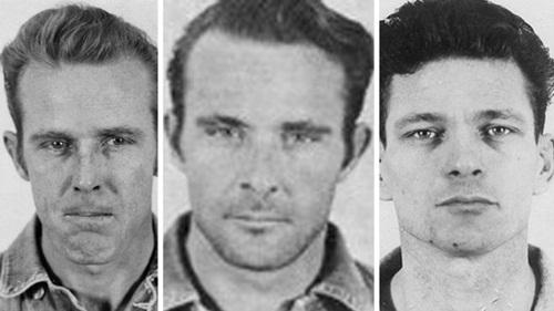 Từ trái qua, John Anglin, Frank Anglin và Frank Morris. Ảnh: FBI.