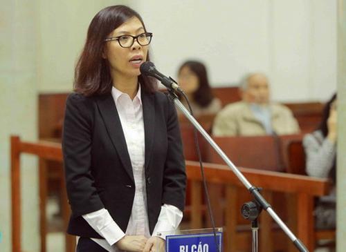 Bị cáo Thái Kiều Hương. Ảnh: TTXVN