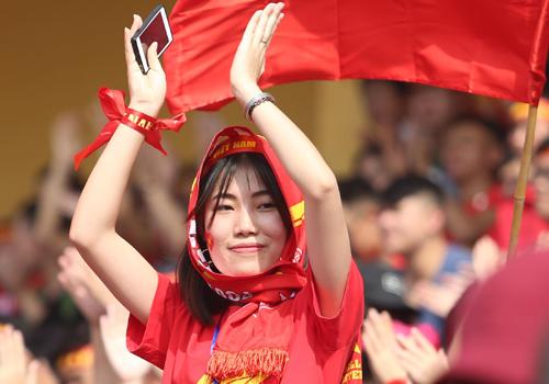 Nhiều đại học khắp cả nước tổ chức offline cổ vũ đội tuyển U23 Việt Nam tại trường. Ảnh minh họa: Ngọc Thành