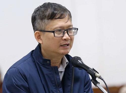 Bị cáo Đinh Mạnh Thắng. Ảnh: TTXVN