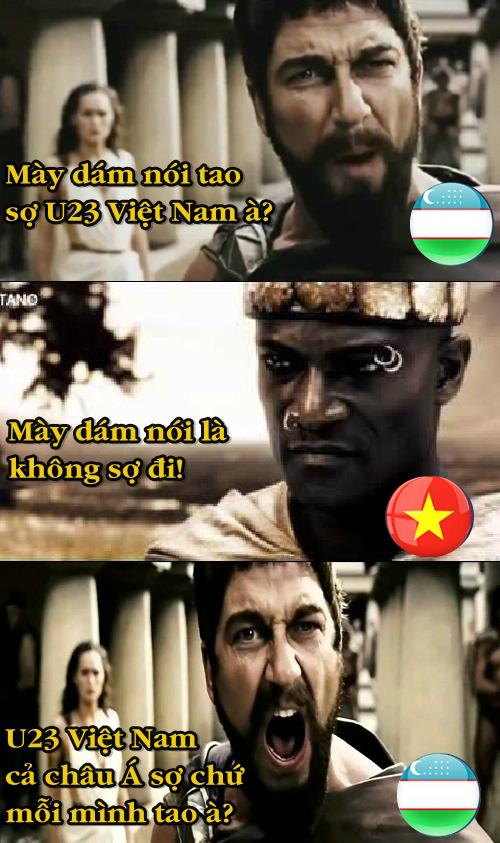 Ảnh chế hài hước trước trận U23 Việt Nam gặp U23 Uzbekistan - 2