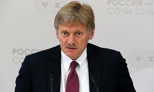 Người phát ngôn Điện Kremlin Peskov. Ảnh: Reuters.