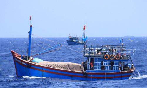 Một tàu cá của ngư dân Việt Nam. Ảnh: Nguyễn Đông