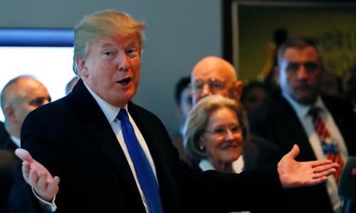 Tổng thống Mỹ Donald Trump tại diễn đàn kinh tế thế giới ởDavos, Switzerland vào ngày25/1. Ảnh: Reuters.