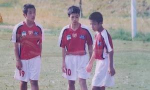 Thời thơ ấu của tiền đạo U23 Công Phượng