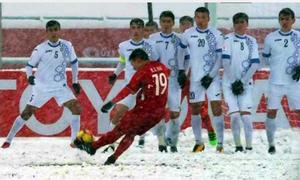 Các điểm xem bóng đá bùng nổ khi Quang Hải ghi bàn gỡ hòa