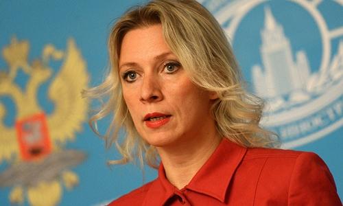 Người phát ngôn Bộ Ngoại giao Nga Maria