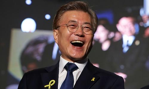 Tổng thống Hàn Quốc Moon Jae-in. Ảnh: AFP.