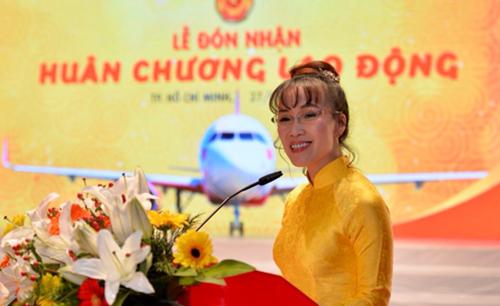 Bà Nguyễn Thị Phương Thảo, Tổng giám đốc Vietjet.