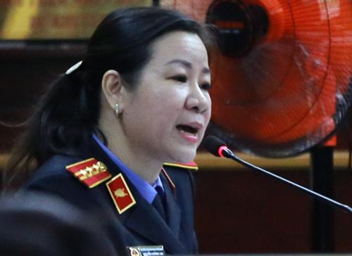 VKS giữ nguyên quan điểm truy tố đối với ông Danh và đồng phạm. Ảnh: Quỳnh Trần.