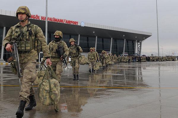 Binh lính Thổ Nhĩ Kỳ được huy động tham gia chiến dịch tấn công vào Syria. Ảnh: Hurriyet.