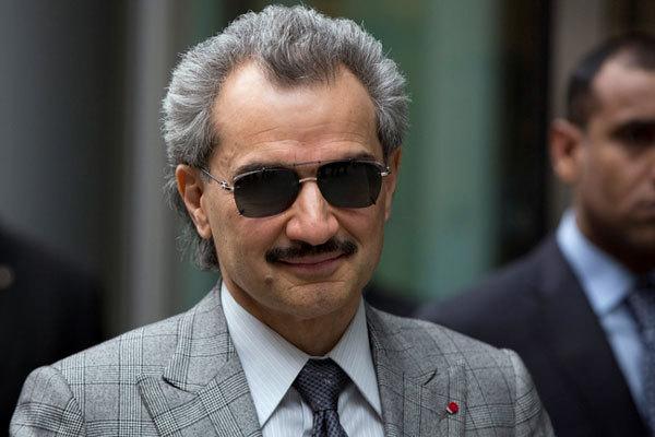 Hoàng tử Alwaleed bin Talal. Ảnh: AP.