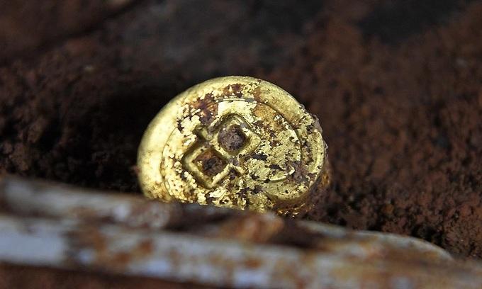 Mộ cổ chứa báu vật thuộc về chắt trai Hán Vũ Đế