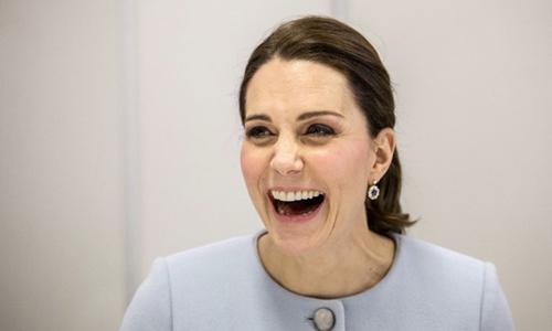 Công nương Kate. Ảnh: AFP.