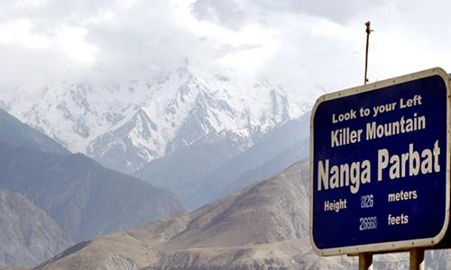 Nanga Parbat mang biệt danh Núi quỷ do có nhiều người thiệt mạng. Ảnh: Reuters.