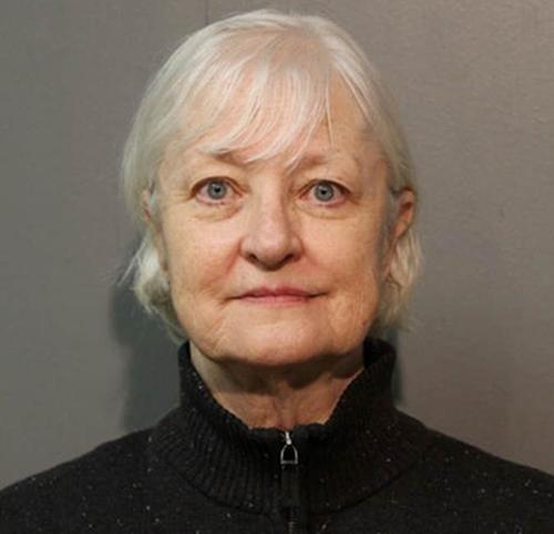 Bà Marilyn Hartman, người được mệnh danh là kẻ đi lậu máy bay hàng loạt. Ảnh: AP.