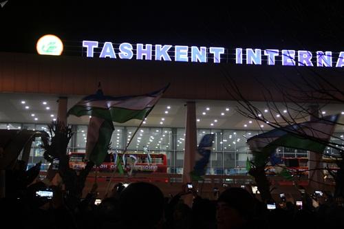 Sân bay quốc tế Tashkent