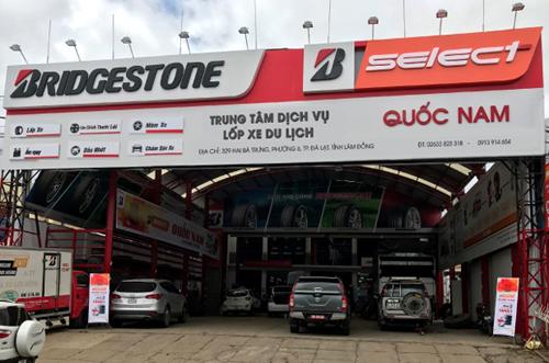 Bridgestone lập kỷ lục khi khai trương cùng lúc 6 Trung tâm dịch vụ lốp xe du lịch trên cả nước