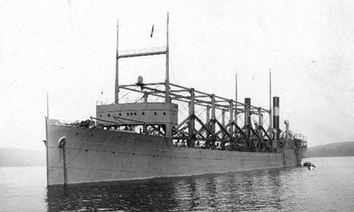 Tàu tiếp liệu USS Cyclops. Ảnh: Wikipedia.