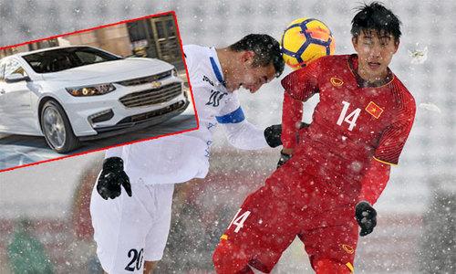 Cầu thủ Uzbekistan được tặng xe hơi sau khi đánh bại U23 Việt Nam