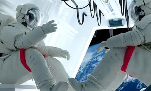 Thực phẩm là một vấn đề quan trọng trên các chuyến du hành vũ trụ dài ngày . Ảnh:Lab Manager.