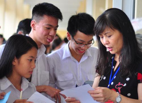 Căn cứ để xác định chỉ tiêu ngành đào tạo giáo viên là nhu cầu tuyển dụng của địa phương. Ảnh minh họa: Quỳnh Trang.