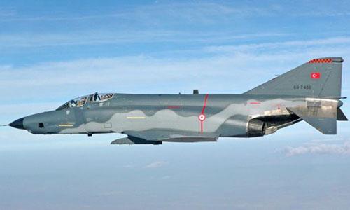 Máy bay chiến đấu của Thổ Nhĩ Kỳ. Ảnh:Cyprusnewsreport.