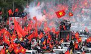 Hãng tin Pháp nói U23 Việt Nam được chào đón như 'ngôi sao nhạc Rock'