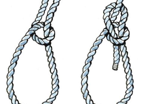 Nút thắt dây thừng khiến sát thủ bị lộ diện.