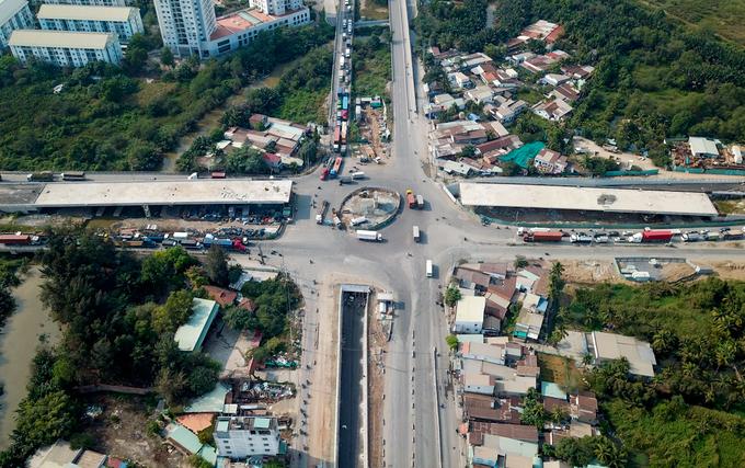 TP HCM thông xe hầm chui giảm ùn tắc ở cửa ngõ phía Đông